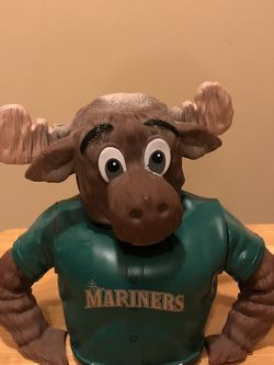 Seattle Mariners Moose Piggybank for Sale in Issaquah,  WA