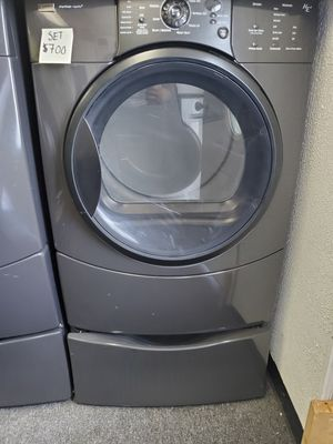 Kenmore front load washer and dryer set excellent conditions 90 days warranty for Sale in Brooklyn Park, MD