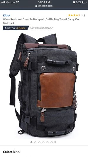KAKA travel laptop backpack for Sale in Portland, OR