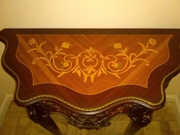 Spanish Carved Console Table