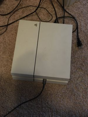 White ps4 with games for Sale in Austin, TX
