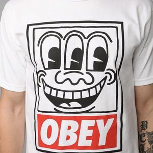 Rare OBEY Keith Haring Pop Art Shirt for Sale in Ann Arbor, MI