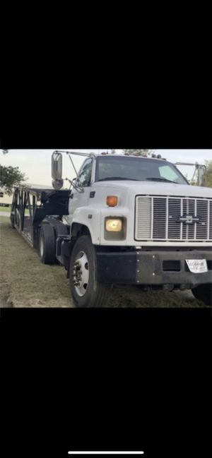 Chevy 7500 (2000) 6 car hauler trailer 2007 for Sale in Houston, TX