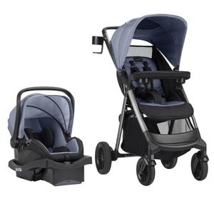 Even flo stroller and infant car seat for Sale in Alexandria, VA