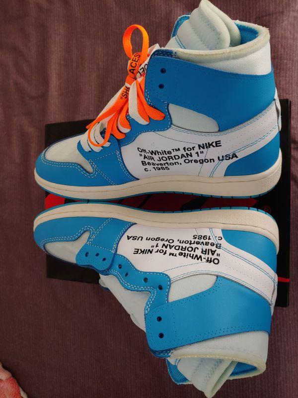 Men Nike Air Jordan Retro 1 UNC Men sz9.5