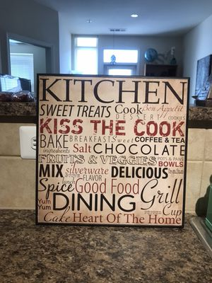 Kitchen wall decor for Sale in Herndon, VA
