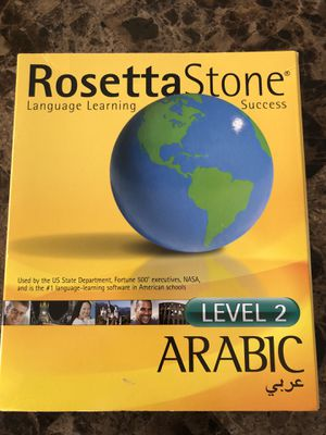 Rosetta Stone Arabic Level 2 for Sale in Lenexa, KS