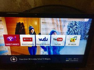 "42"" LG -LED TV w/ remote , excellent condition , lightly used in spare room, moving the first of the year trying to reduce the load . for Sale in Wylie, TX"