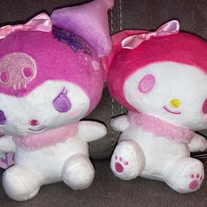 Kuromi & My Melody hombré Floral Plushies for Sale in San Diego, CA