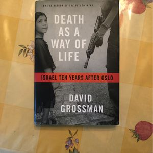 Death As A Way Of life By David Grossman Jewish /Israel Book for Sale in Walnut, CA