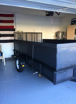 6.5' x 12.5 utility trailer with walls for Sale in Orlando, FL