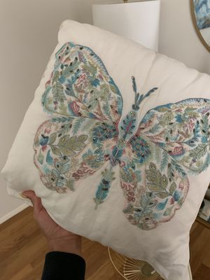 Zara Home - Butterfly Decor Throw Pillow for Sale in Long Beach, CA
