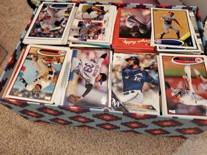 Box full of assorted baseball cards for Sale in Alexandria, VA