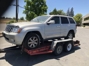 Parting out Jeep Grand Cherokee for Sale in McClellan Park, CA