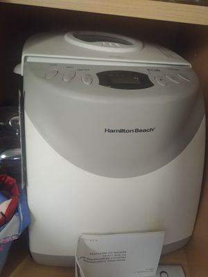 Hamilton Beach Bread Maker for Sale in Oakbrook Terrace, IL