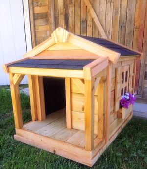 New Solid Wood Dog House for Sale in Riverton, UT