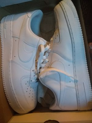 Men's Nike AF1 Clean All white for Sale in Milwaukee, WI