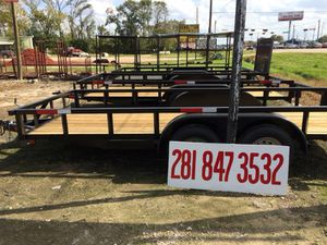 """New 16'x76"""" Utility Trailers for Sale in Houston, TX"""