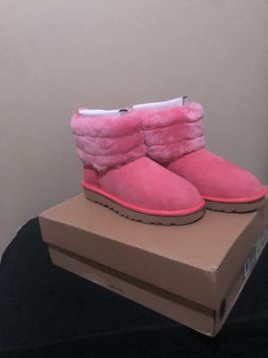 UGG's pink logo mini boots for Sale in Baltimore, MD