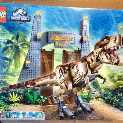 75936 LEGO Jurassic World T. rex set new