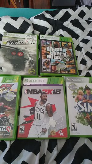 Games xbox 360 for Sale in Pawtucket, RI