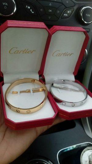 Cartier love bracelet(gold or silver) for Sale in Washington, DC