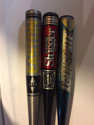 Three baseball bats for Sale in Naperville, IL
