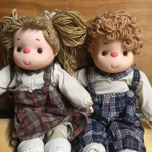 Pair Of Vintage Dolls for Sale in Garden Grove, CA
