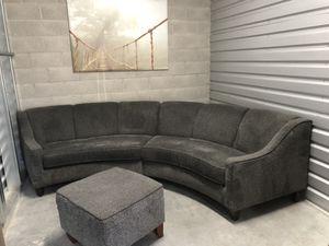 🛋Comfy Circular Sofa - ottoman 🛋⭐️⭐️⭐️🚚 for Sale in San Jose, CA