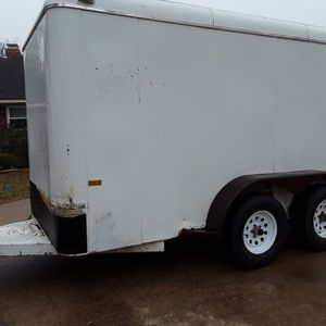 Trailer, Tandem Axle, All Steel, Enclosed for Sale in Red Oak, TX