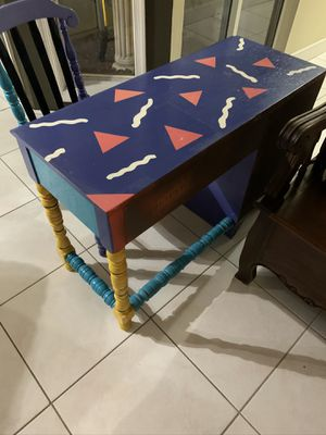 Children Kids Student Wood Desk and Chair for Sale in Deerfield Beach, FL