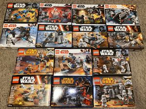 LEGO StarWars Ultimate 14 Battle Pack Collection Sealed New for Sale in Sugar Land, TX