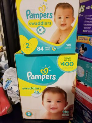 Pampers swaddlers no2. for Sale in Lewisville, TX