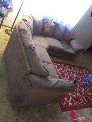 Wrap around a sofa for Sale in Mulvane, KS