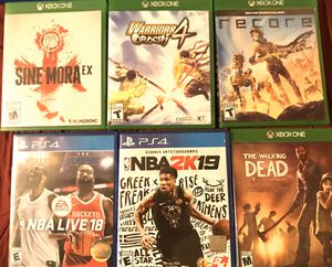 PS4/Xbox one $15 each for Sale in San Diego, CA