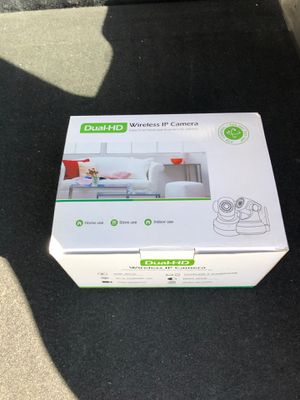 Dual HD wireless IP camera for Sale in New Fairfield, CT