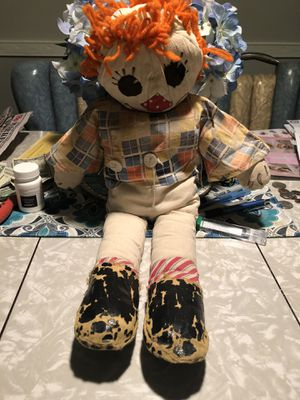 Antique raggedy Ann creepy doll for Sale in Philadelphia, PA