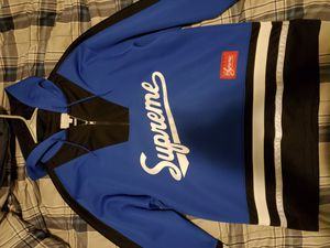 Supreme Hockey Jersey Hoodie Pullover for Sale in Chicago, IL