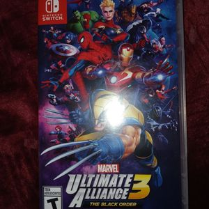 Marvel Ultimate Alliance 3 Switch (Open Never Played) for Sale in Santa Maria, CA