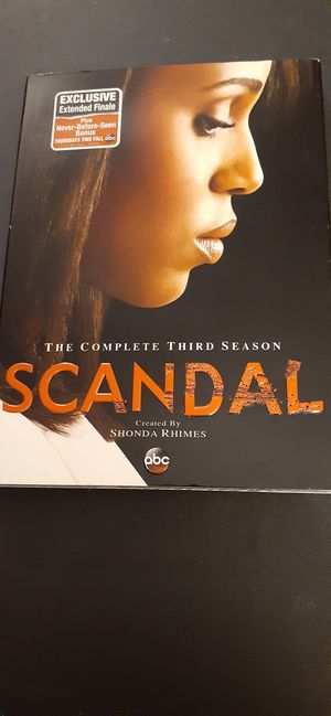 SCANDAL Complete Season 3 (DVD) NEW! for Sale in Lewisville, TX