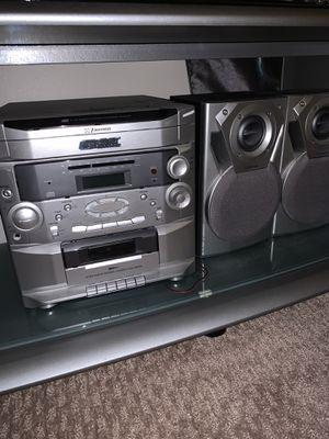 Stereo recorder cassette / CD for Sale in Springfield, VA