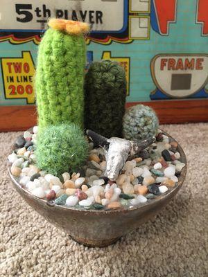 Handmade Crochet Cactus Arrangement for Sale in Harrisburg, PA