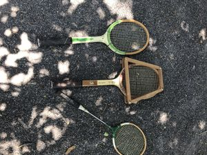 Vintage Spalding Tennis Racket + 2 others for Sale in Albuquerque, NM