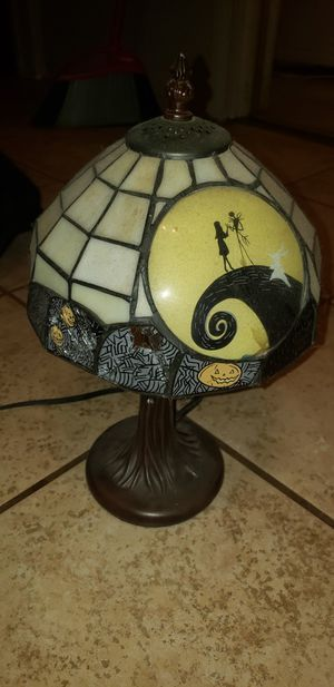 Nightmare Before Xmas Lamp for Sale in Long Beach, CA