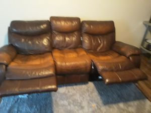 Reclining couch for Sale in Frederick, MD