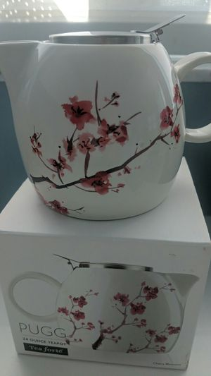 Tea Forte Pugg Ceramic Tea Pot NEW for Sale in Miami Beach, FL