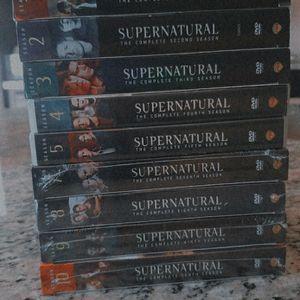 Supernatural Dvd Read Description for Sale in Forney, TX