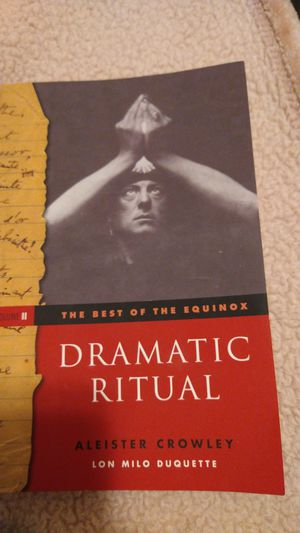 Aliester crowley book The best of the equinox Volume 3 by Lon milo duqette occult and mysticism for Sale in San Antonio, TX