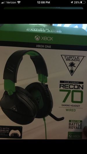Turtle beach headset for Sale in Mesquite, TX