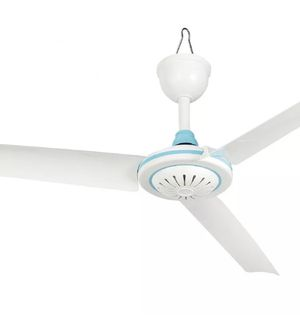 "Electric Portable 3 Blade Mini 12V DC Ceiling Fan Easy Hang Needs No Wiring 28"" Inches (New) for Sale in Chatsworth, CA"